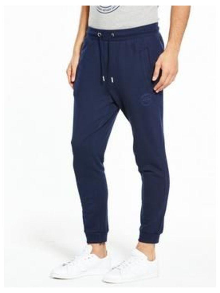 Gio Goi Logo Sweat Pant, Navy, Size Xs, Men