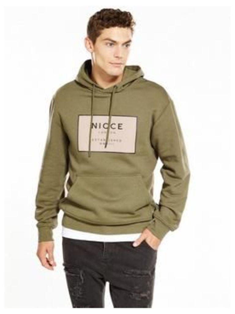 NICCE Est -13 Hood, Khaki, Size L, Men