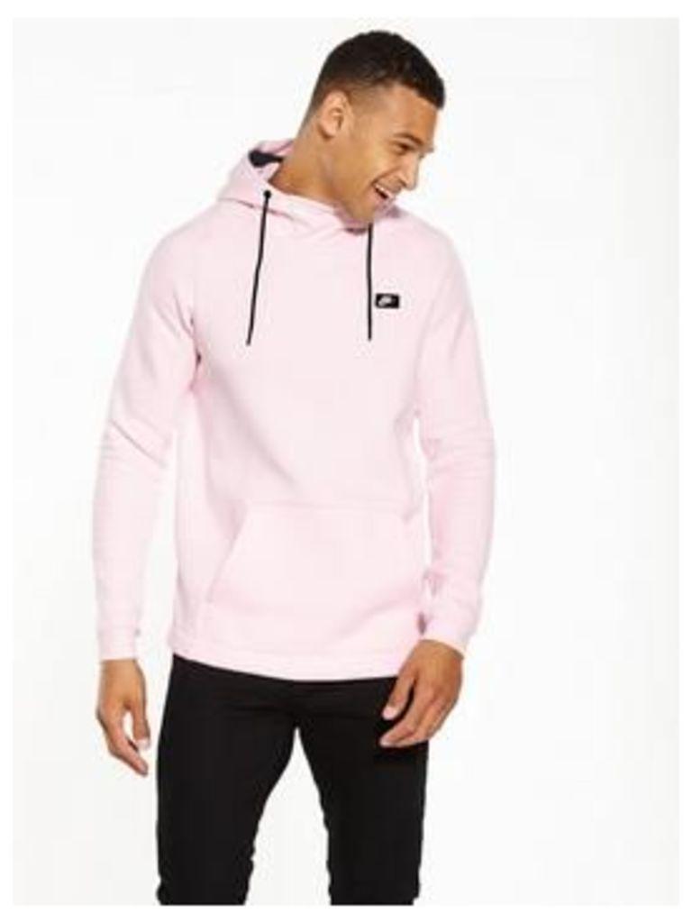 Nike NSW Tribute Overhead Hoody, Arctic Pink, Size S, Men