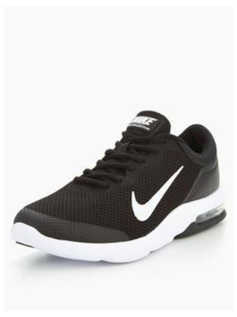Nike Air Max Advantage - Black , Black/White, Size 10, Men