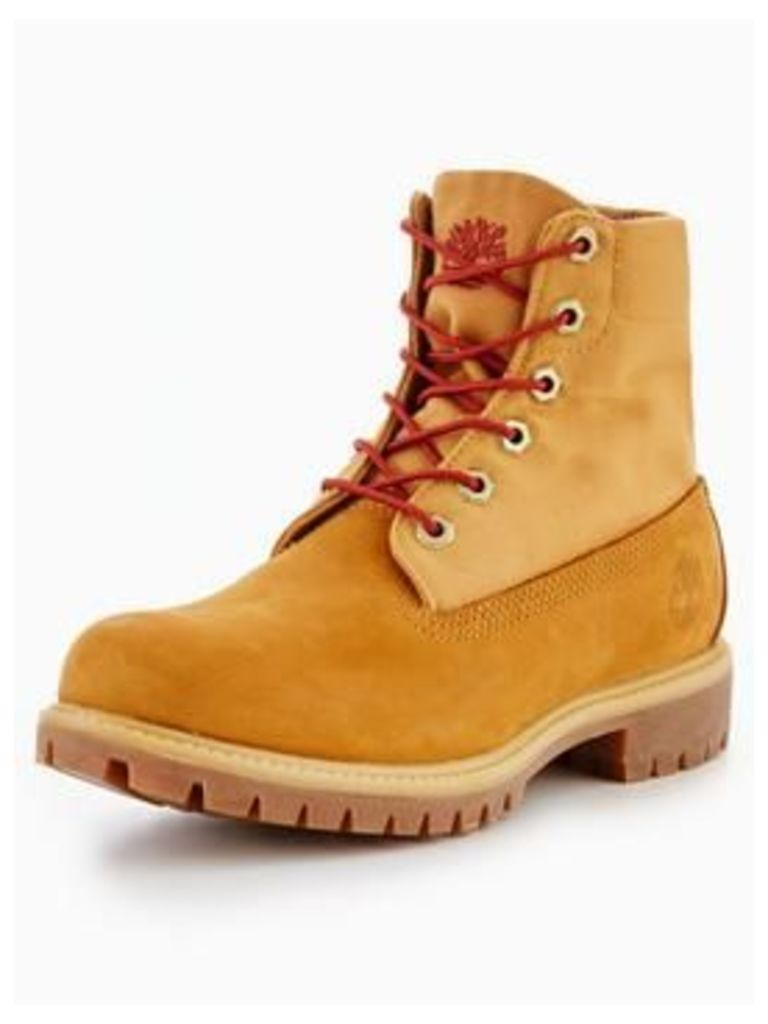 Timberland Roll Top Boot, Wheat, Size 6, Men