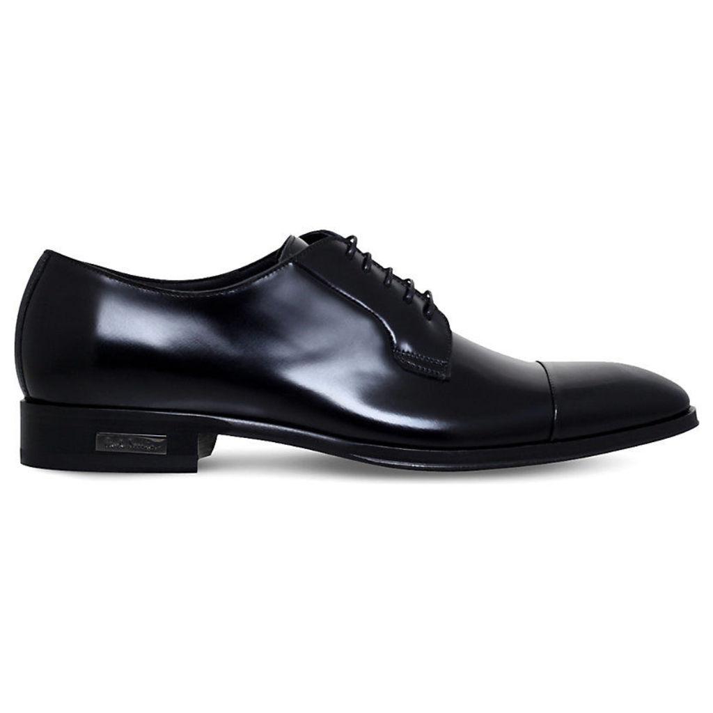 Paul Smith Mens Black Embossed Modern Shoes, Size: EUR 43 / 9 UK MEN