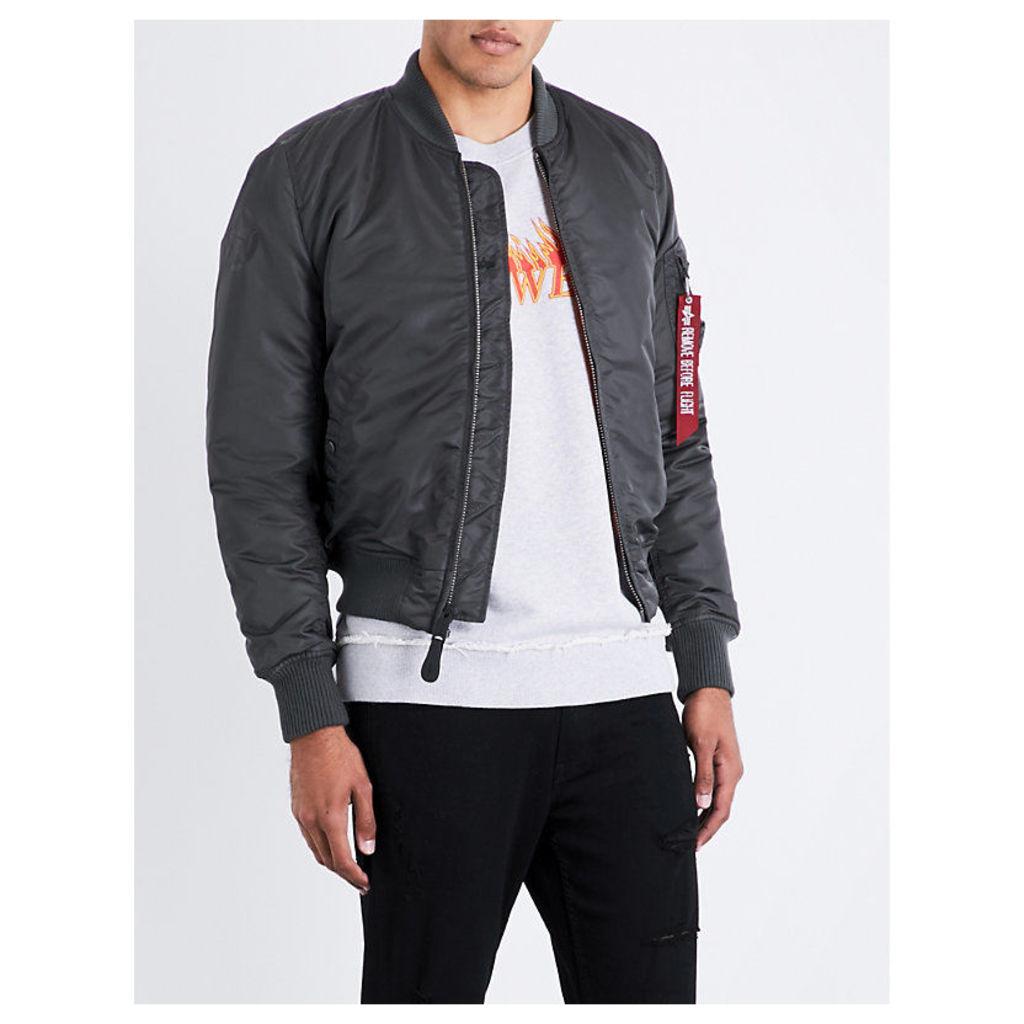 Army shell bomber jacket