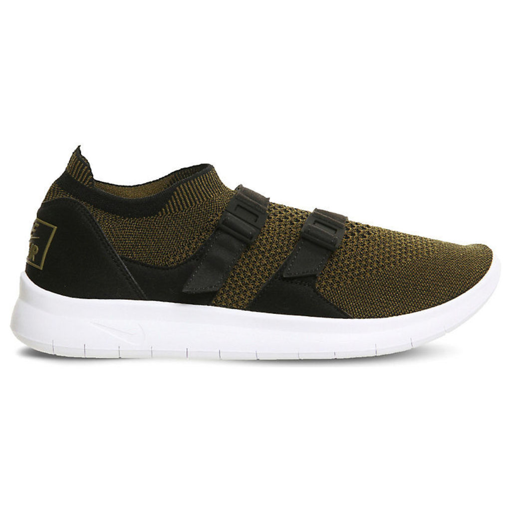 Nike Air Sock Racer Ultra Flyknit trainers, Mens, Size: 11, Black olive