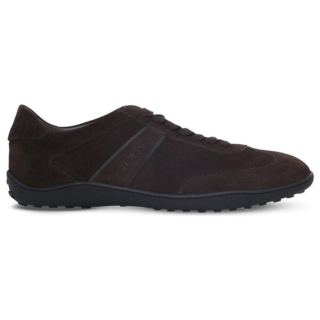 Tods Lo Pro suede trainers, Mens, Size: EUR 41 / 7 UK MEN, Dark brown
