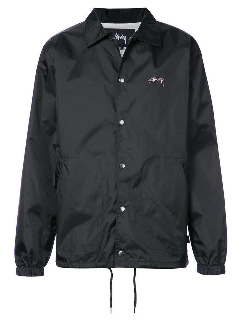 Stussy - Summer Coach jacket - men - Cotton/Nylon - XL, Black