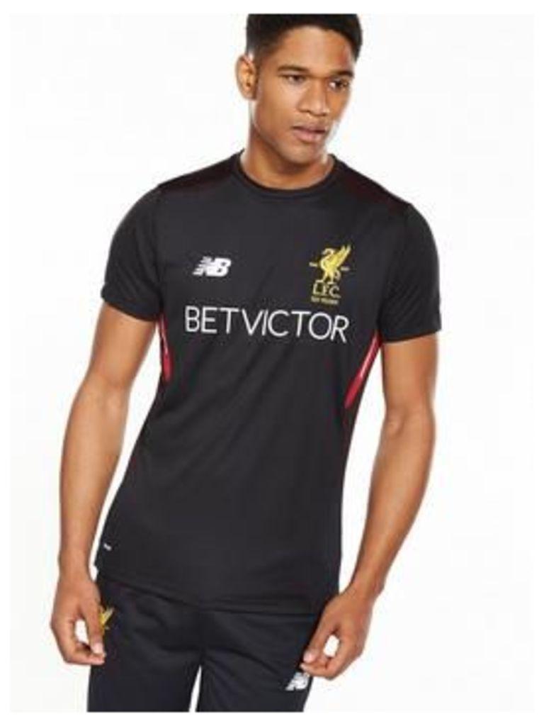 New Balance Liverpool Fc Mens Elite Training Motion Short Sleeved Tee