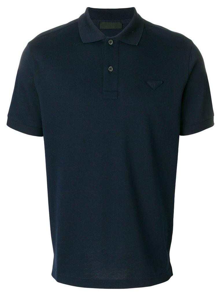 Prada - classic polo shirt - men - Cotton - M, Blue