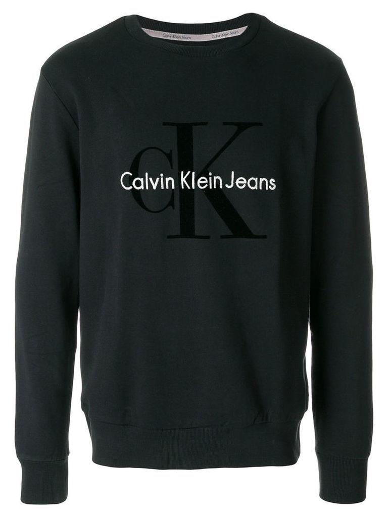 Calvin Klein - printed top - men - Cotton - L, Black