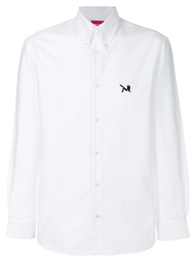 Calvin Klein 205W39nyc - plain shirt - men - Cotton - 40, White