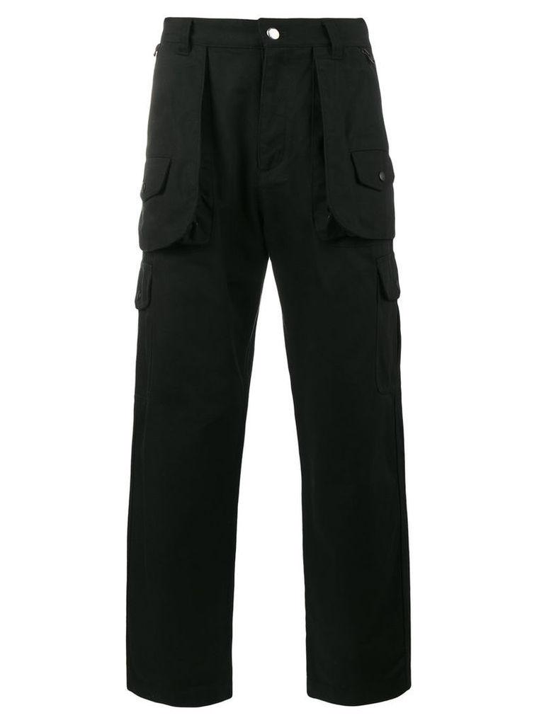 White Mountaineering - hunting cargo pants - men - Cotton - 4, Black