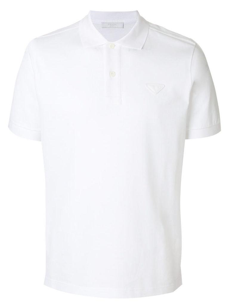 Prada - classic polo shirt - men - Cotton - XL, White
