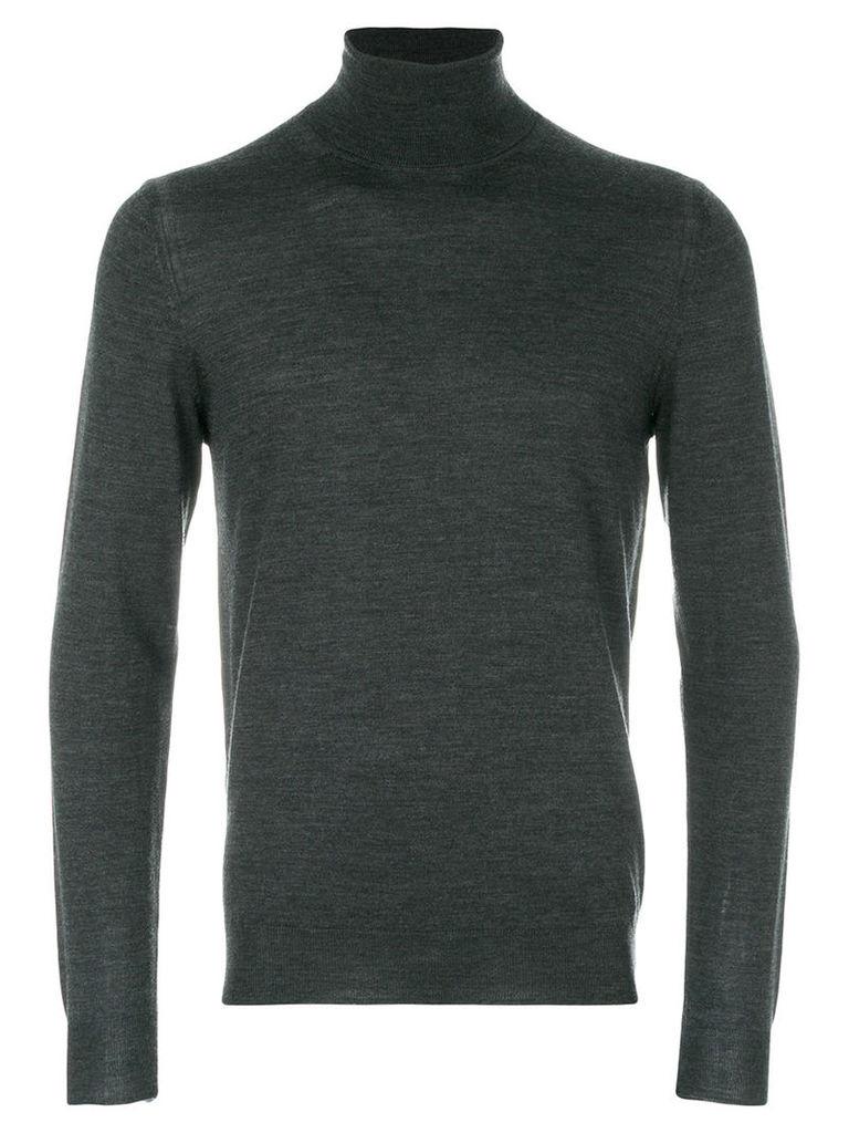 Paolo Pecora - roll-neck jumper - men - Wool - S, Grey