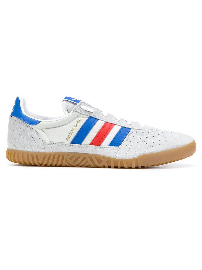 Adidas - Adidas Originals Indoor Super sneakers - men - Suede/Nylon/Polyester/rubber - 6, Grey