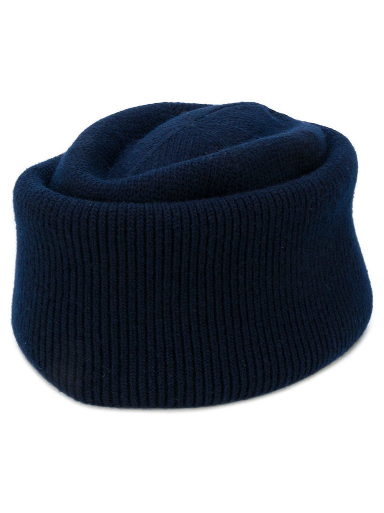Golden Goose Deluxe Brand - George beanie hat - men - Wool - One Size, Blue