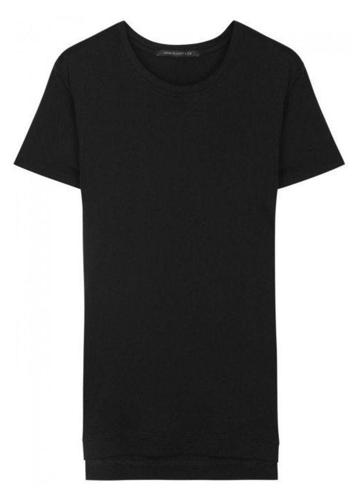 John Elliott Mercer Black Jersey T-shirt - Size S