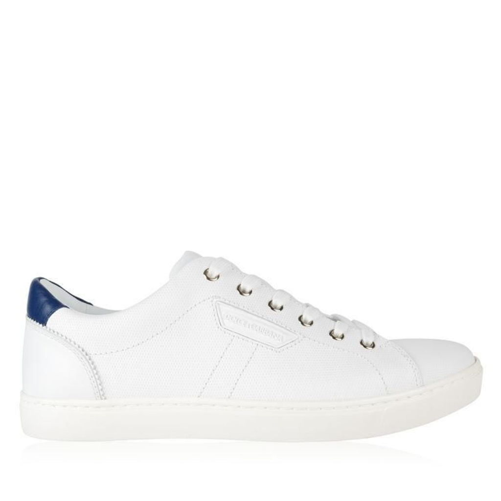 DOLCE AND GABBANA Embossed London Low Top Trainers
