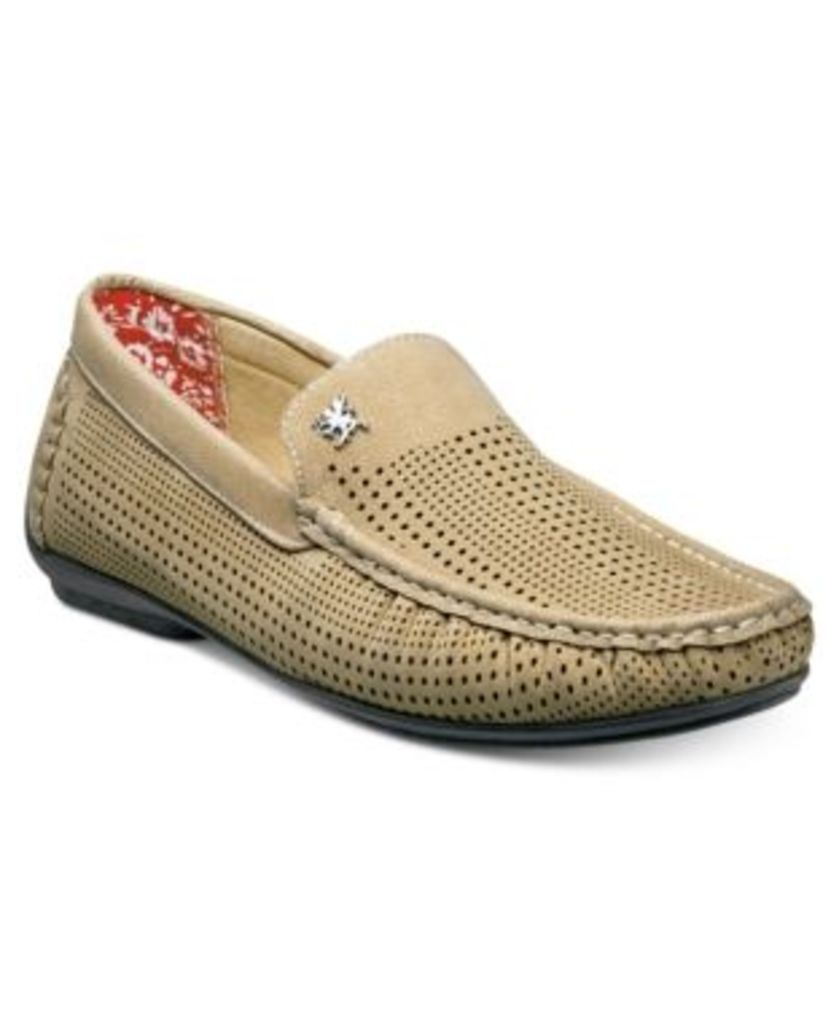 Stacy Adams Men's Pippin Perforated Moccasin Drivers Men's Shoes