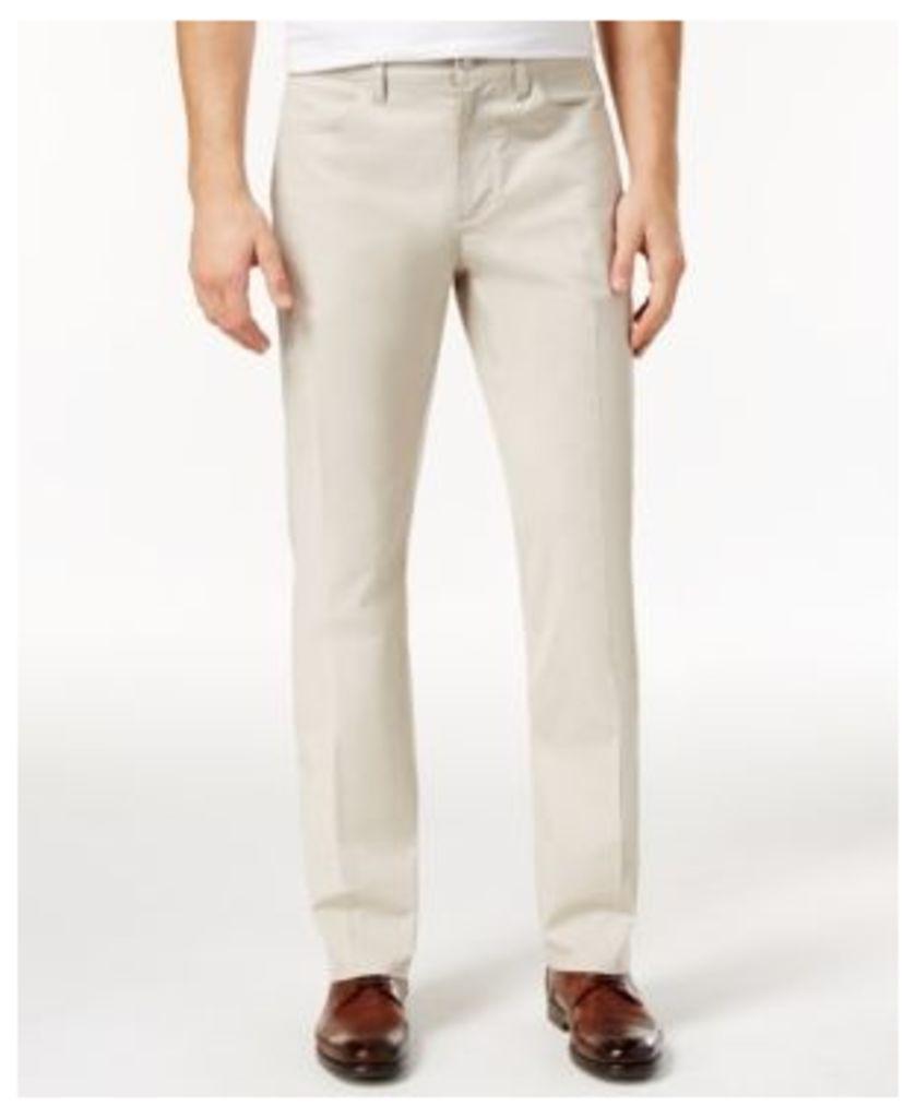 Alfani Men's Flat-Front Slim-Fit Pants, Created for Macy's