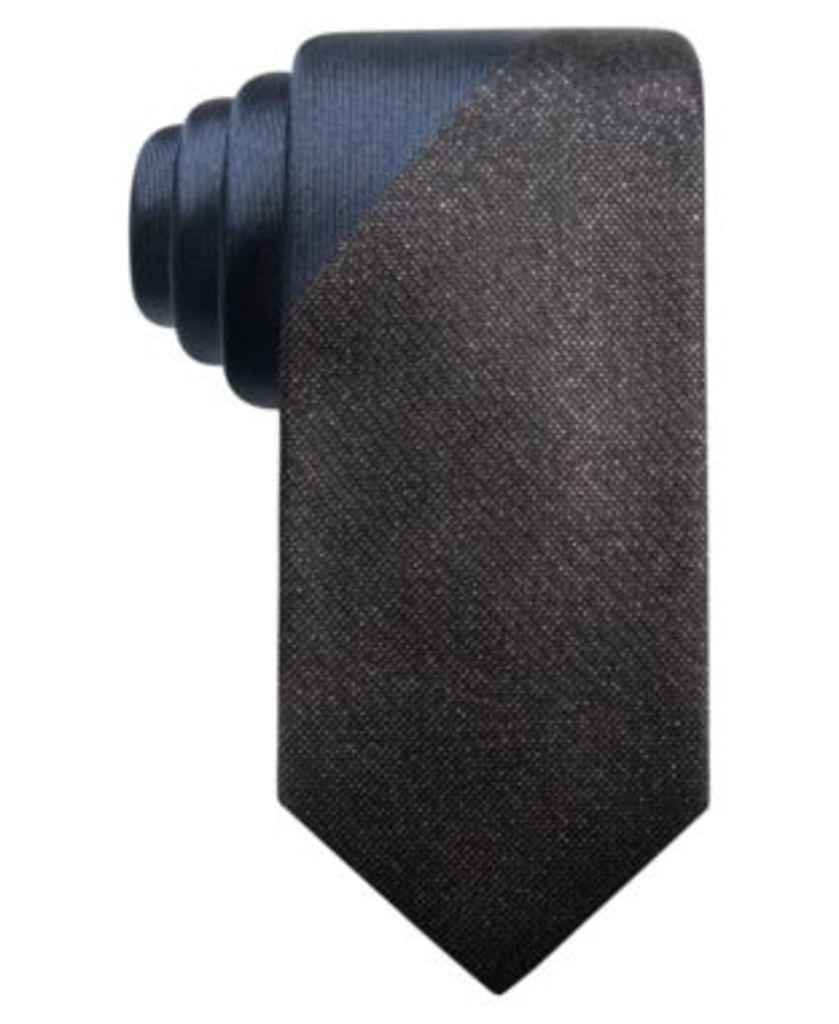 Alfani Men's Panel Slim Tie, Created for Macy's