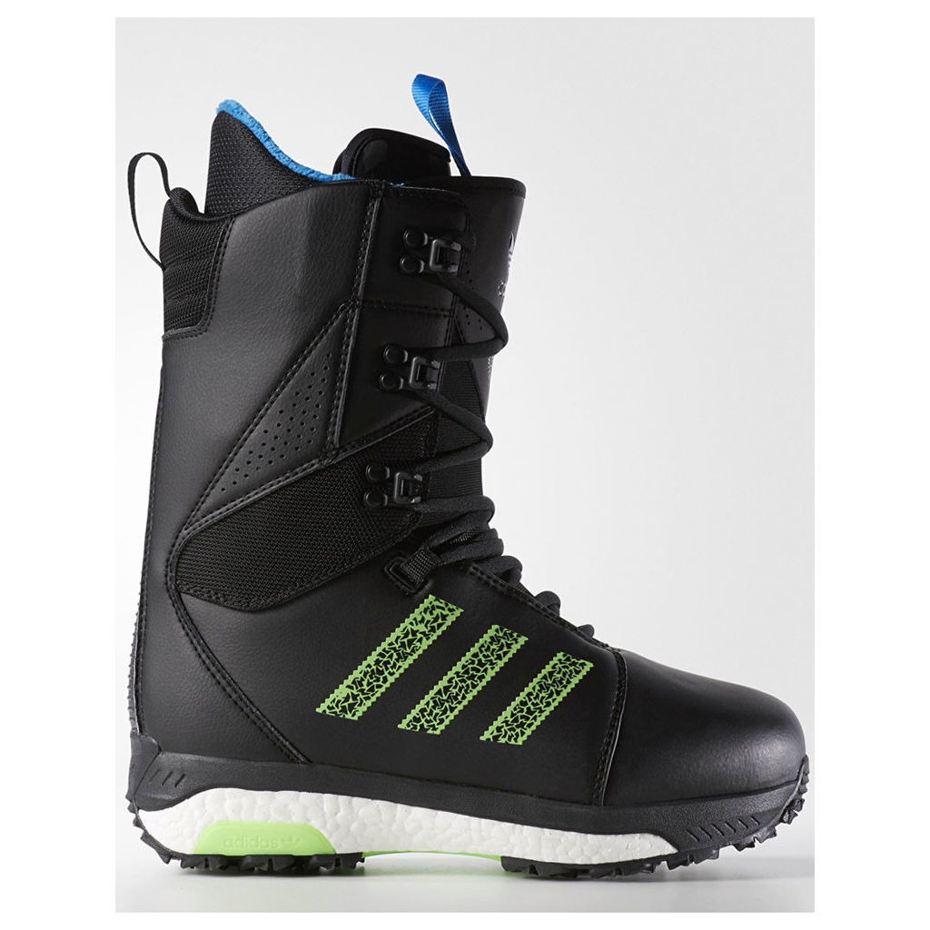 Adidas Tactical ADV 2017 Snowboard Boots - Black/White/Solar Green (UK 10)