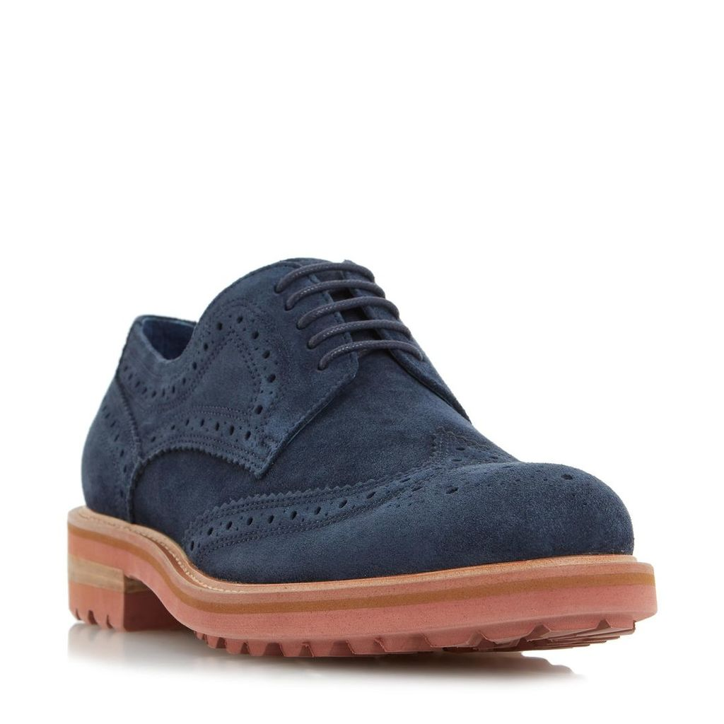 Blindside Colour Pop Cleated Sole Brogue Shoe