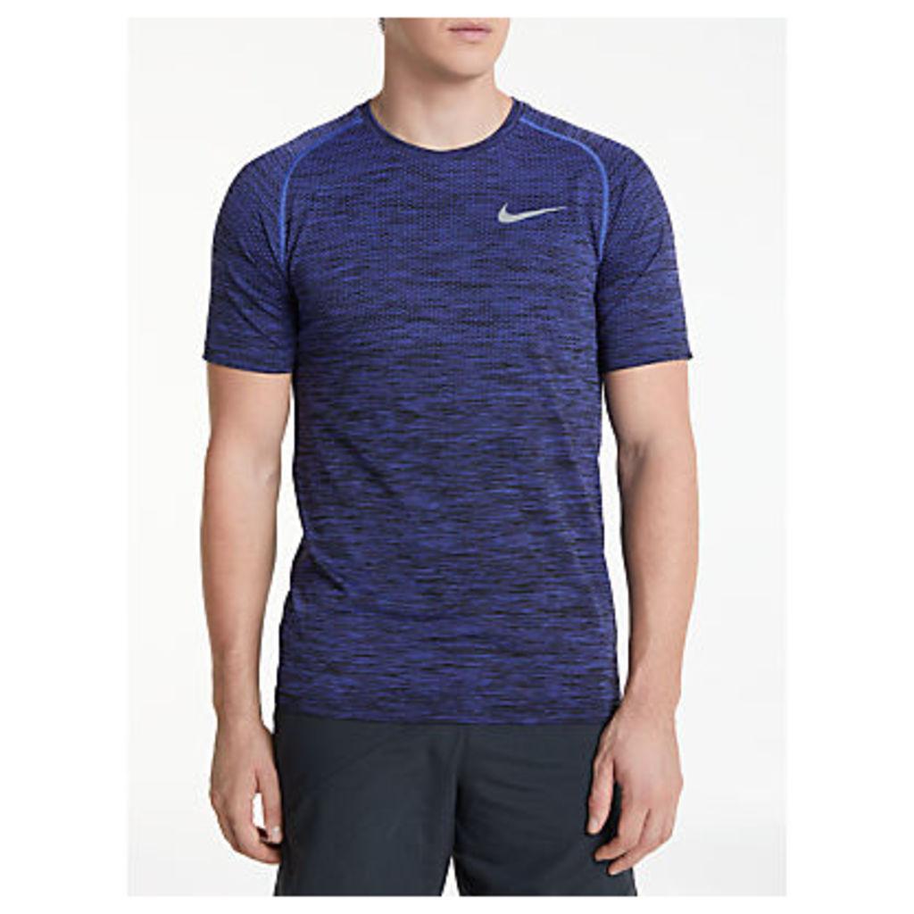Nike Dri-FIT Knit Short Sleeve Running T-Shirt
