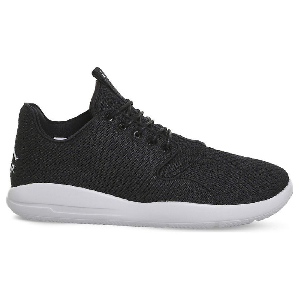 Nike Jordan Eclipse lace-up mesh trainers, Mens, Size: 11, Black grey