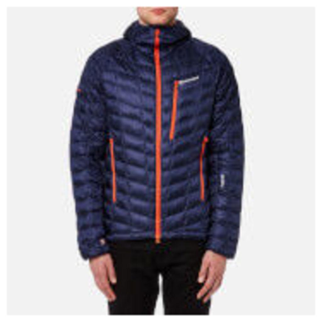 Montane Men's Hi-Q Luxe Jacket - Antarctic Blue/Burnt Orange