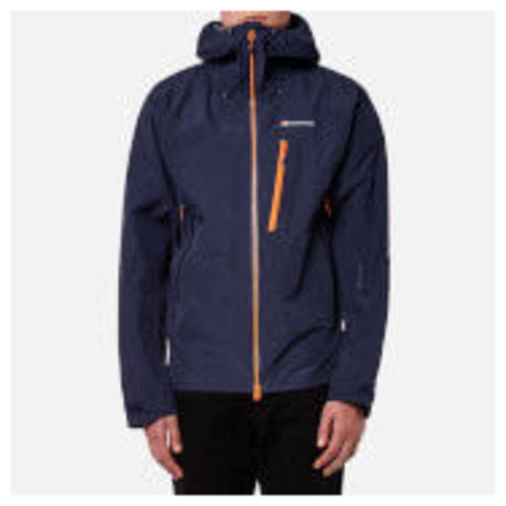 Montane Men's Alpine Pro Gore-Tex Jacket - Antarctic Blue/Burnt Orange