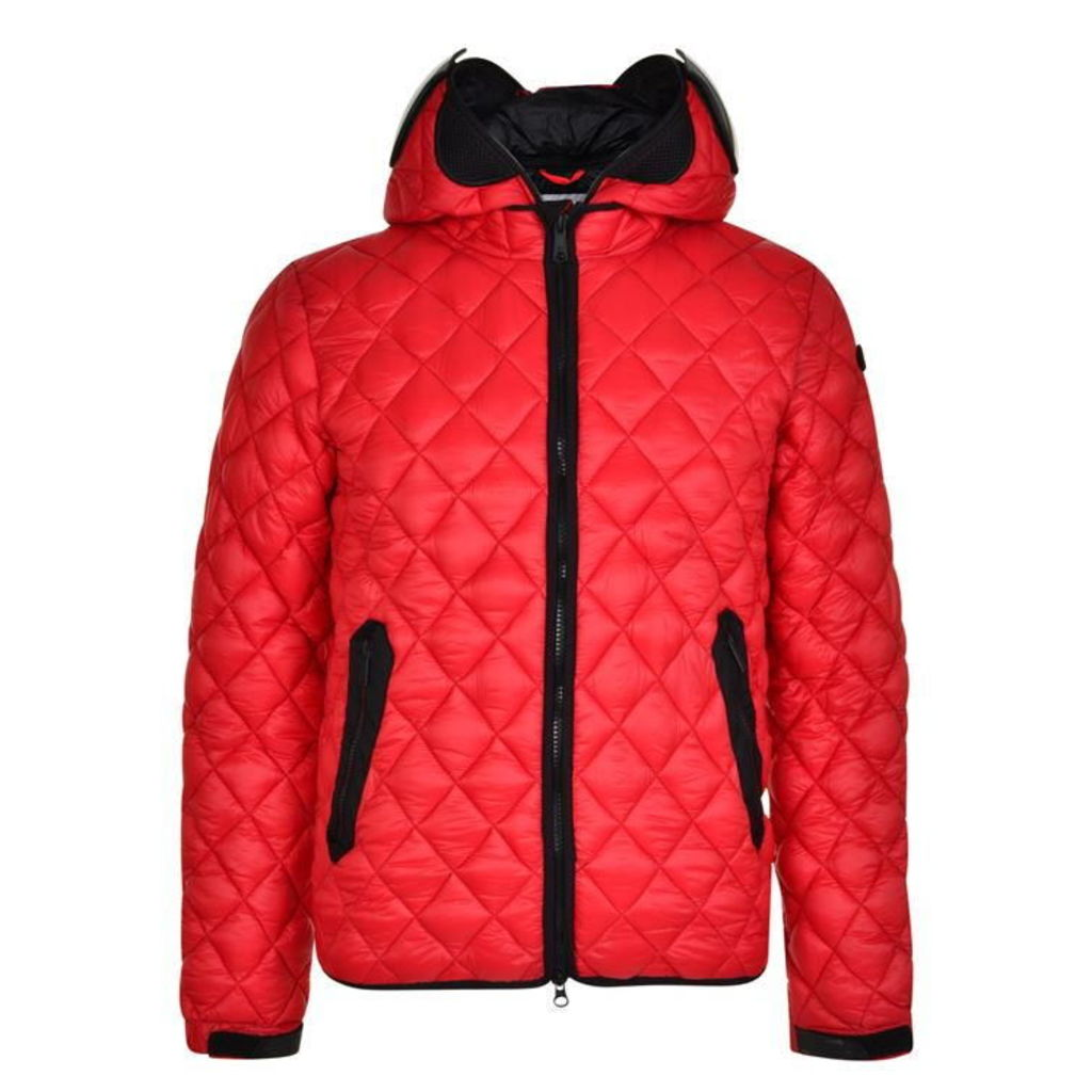 AI RIDERS ON THE STORM Lens Quilted Jacket