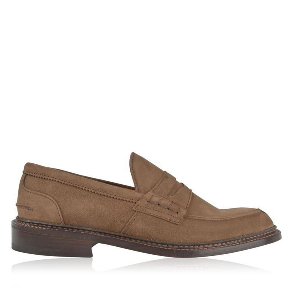 TRICKERS James Suede Penny Loafers