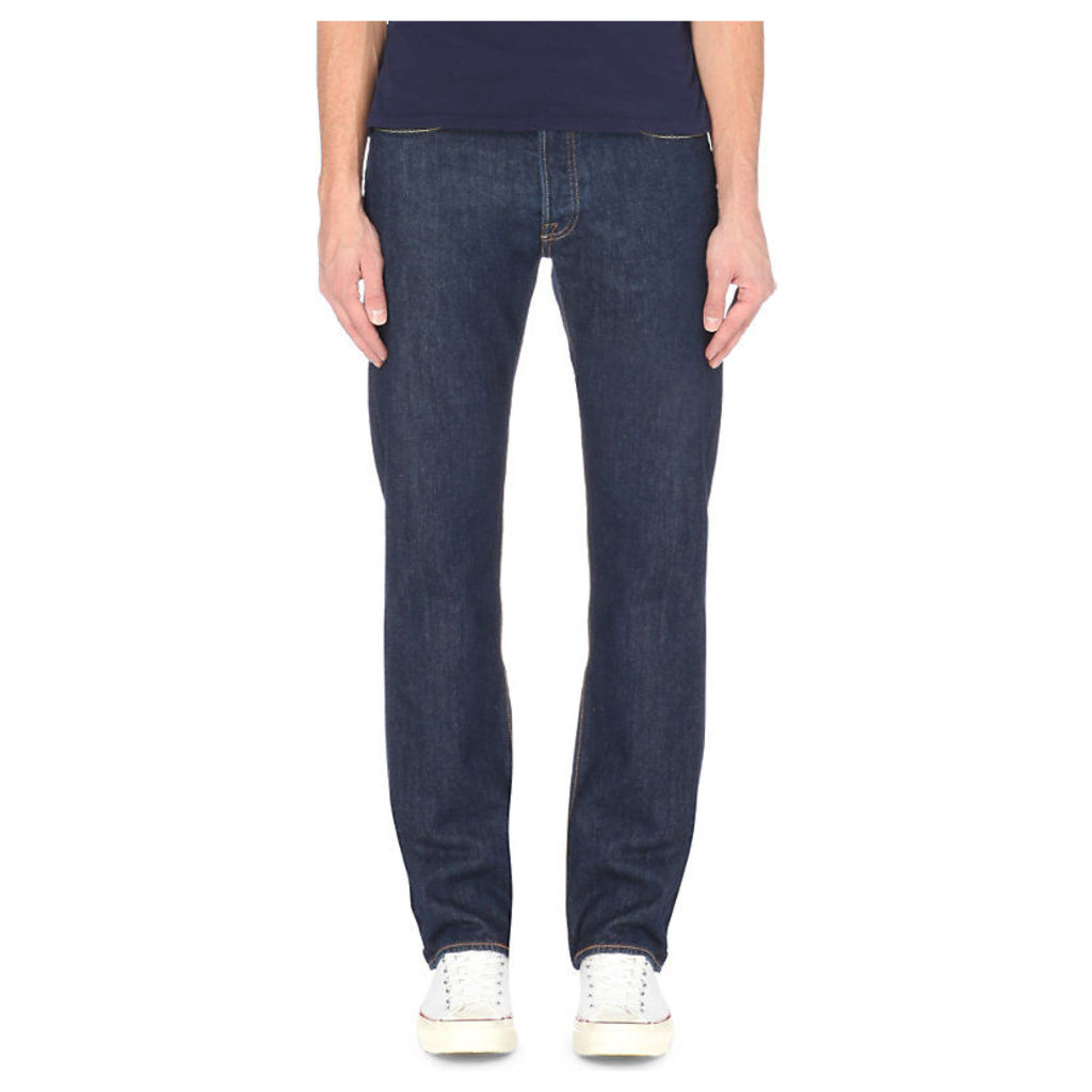 Levi's 501 Original regular-fit straight jeans, Mens, Size: 4032, Indigo