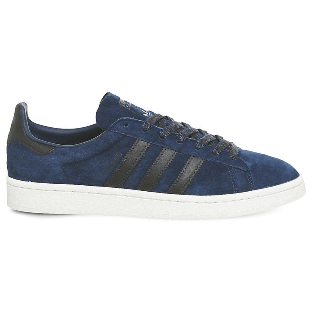 Adidas Campus suede trainers, Mens, Size: 8, Mystery blue night