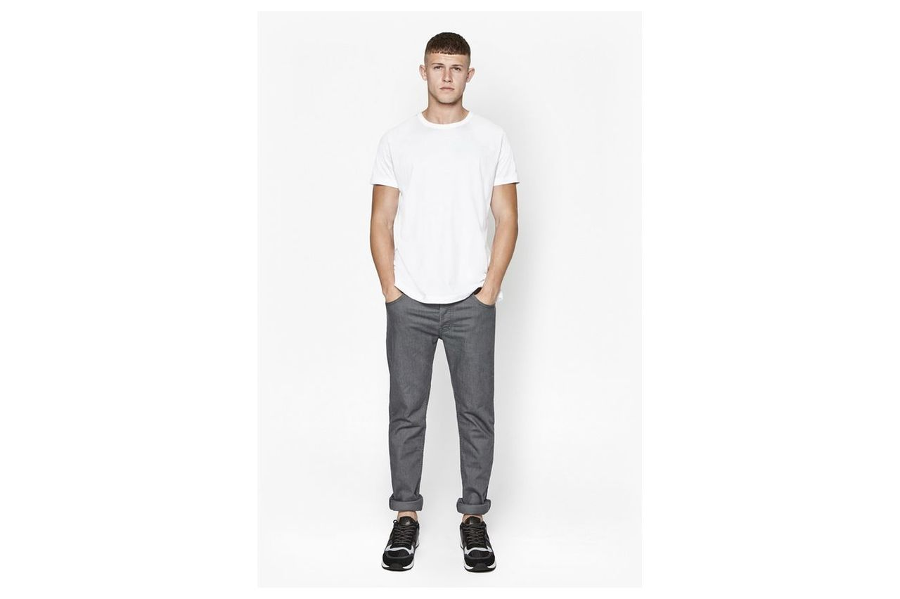 Co Slim Grey Jeans - rinse
