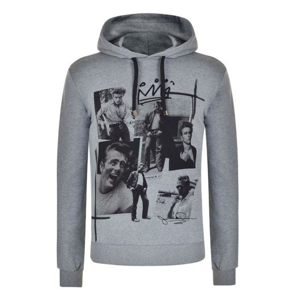 DOLCE AND GABBANA James Dean Hooded Sweatshirt