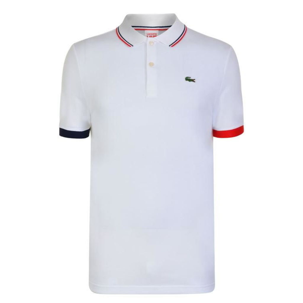 LACOSTE Tipped Polo Shirt