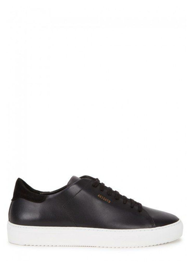 Axel Arigato Clean 90 Black Leather Trainers - Size 10