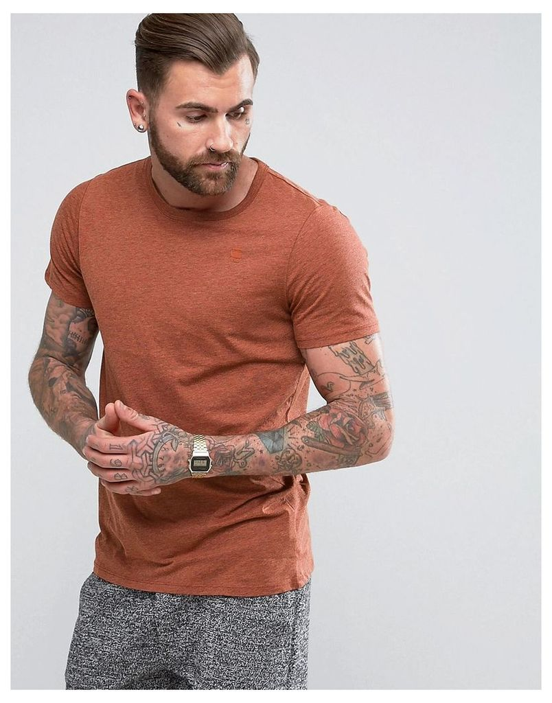 G-Star Felor T-Shirt - Bright auburn htr