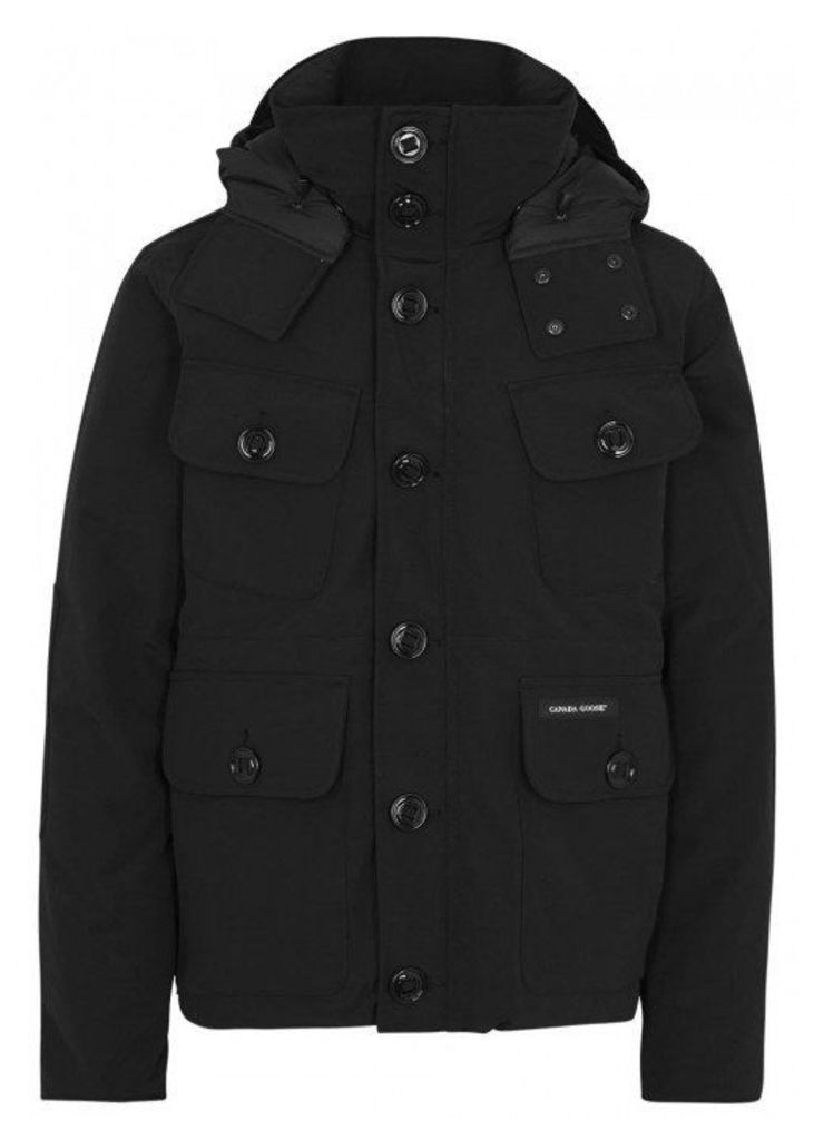 Canada Goose Selkirk Black Padded Twill Jacket - Size L