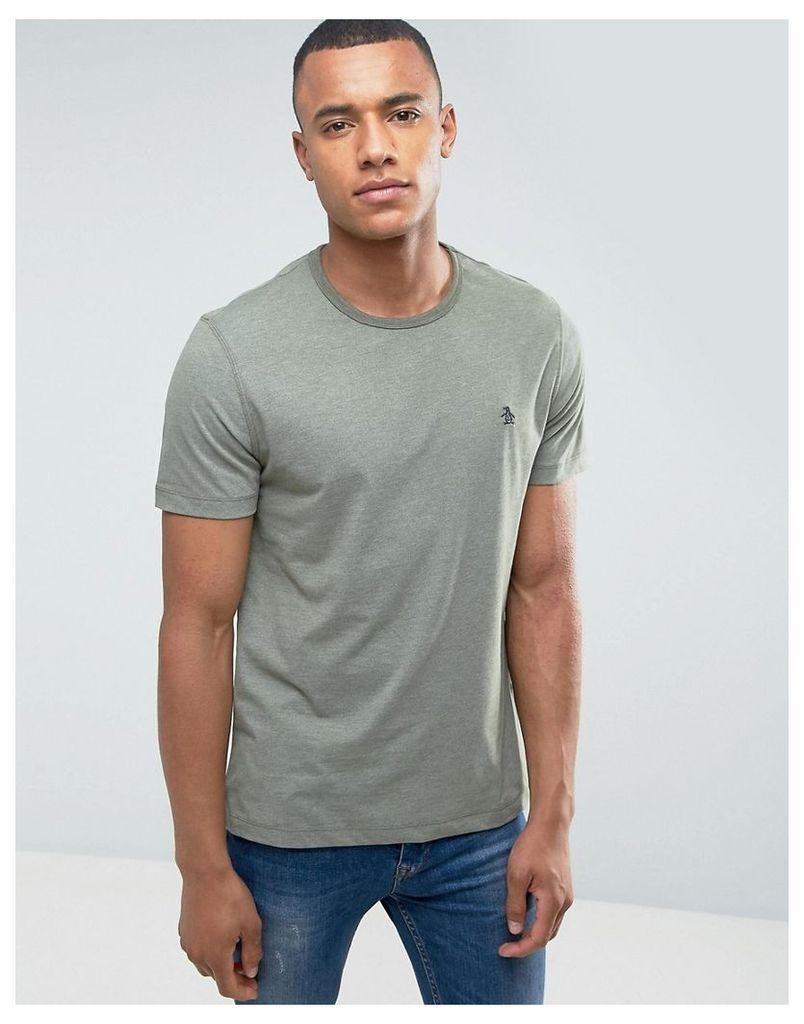 Original Penguin Peached Jersey T-Shirt - Green