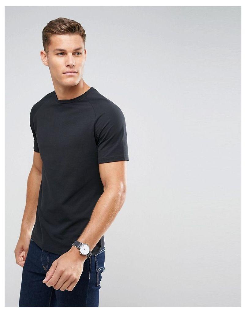 Selected Homme Short Sleeve T-Shirt - Caviar
