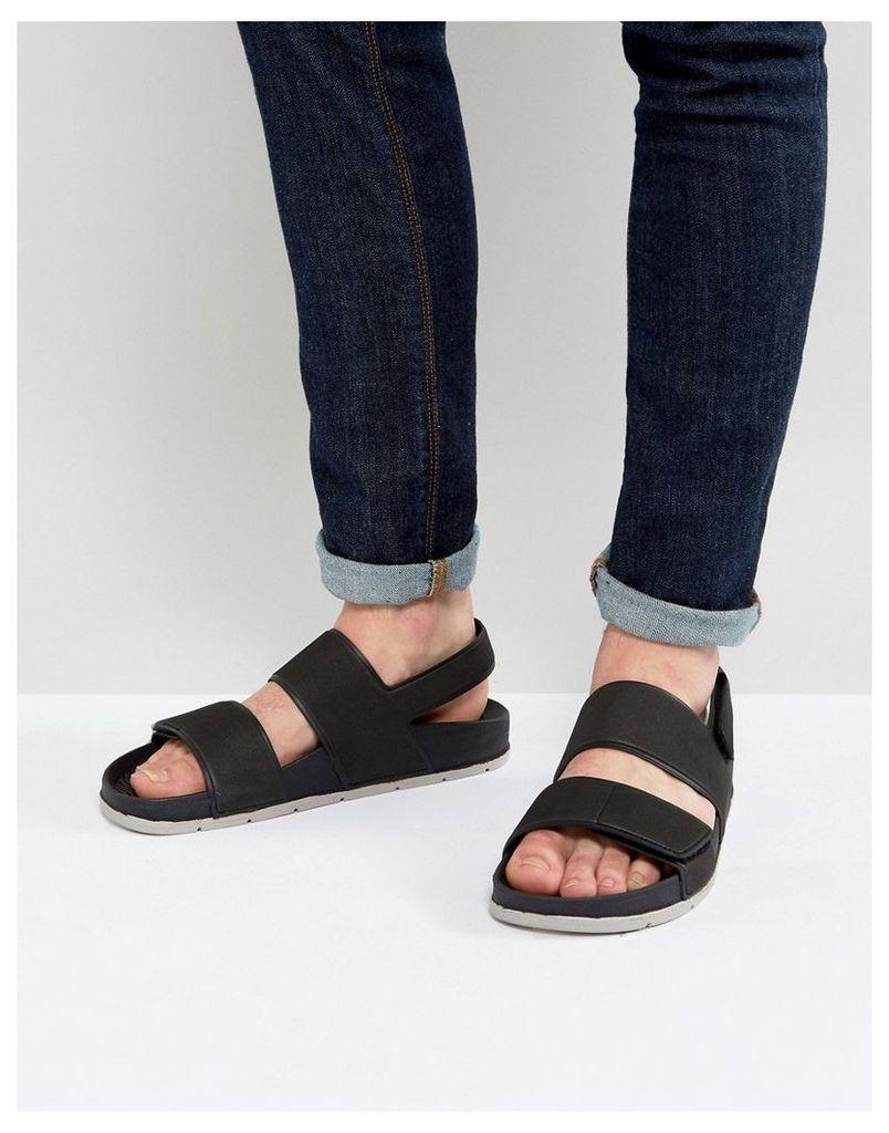 ALDO Brawen Double Strap Sandals - Black