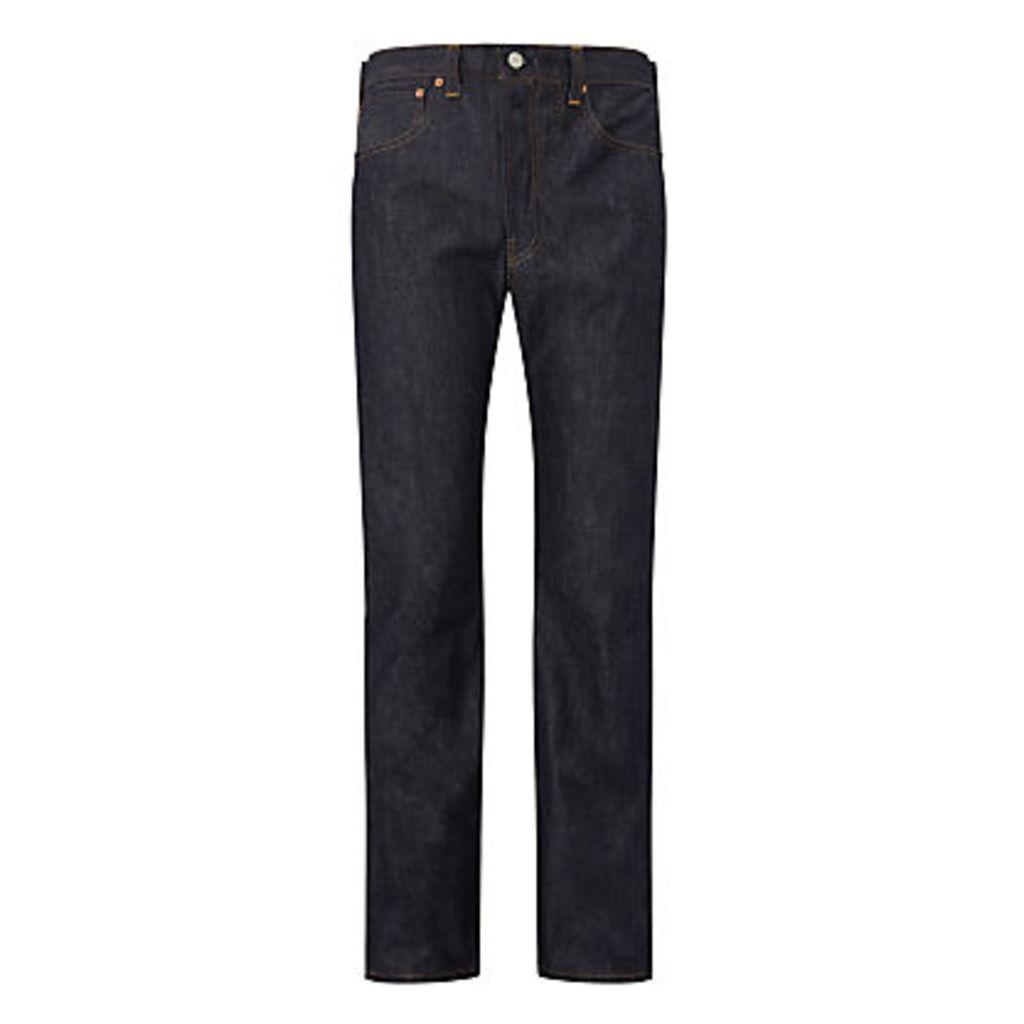 Levi's 501 Straight Leg Selvedge Jeans, Denim