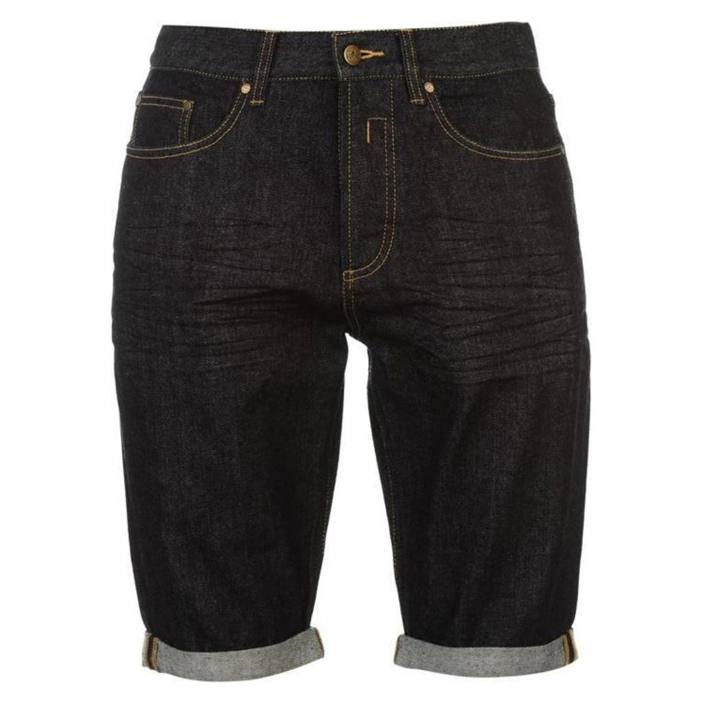 Soviet Denim Shorts Mens