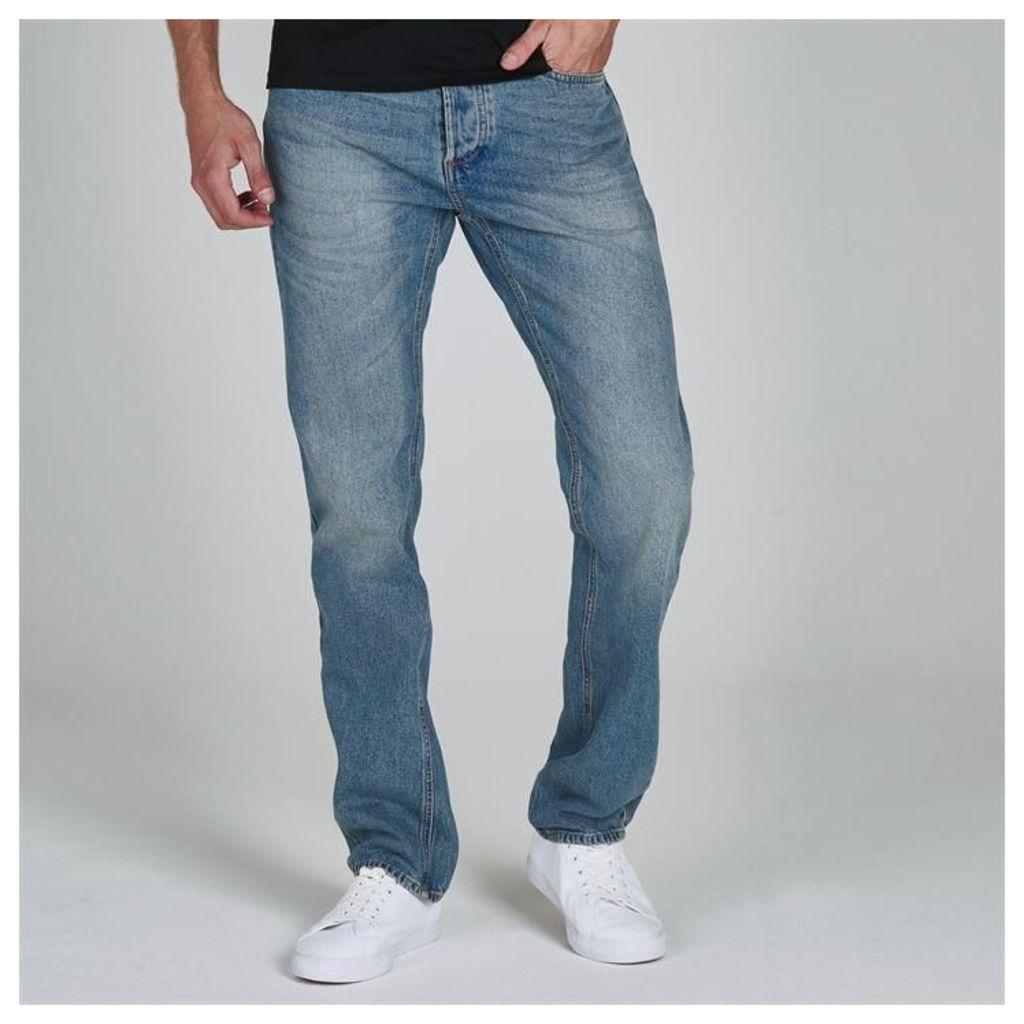 Soviet Light Wash Jeans Mens