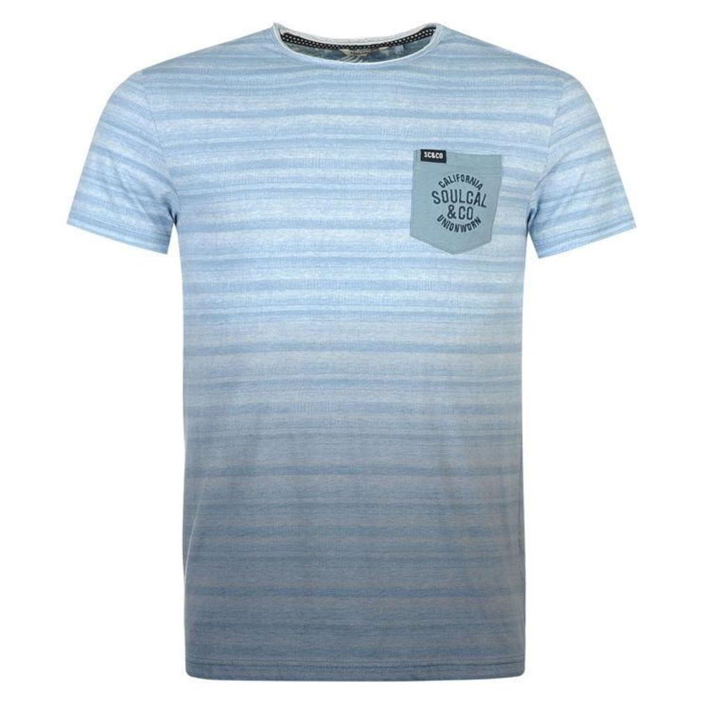 SoulCal Dipdye T Shirt Mens