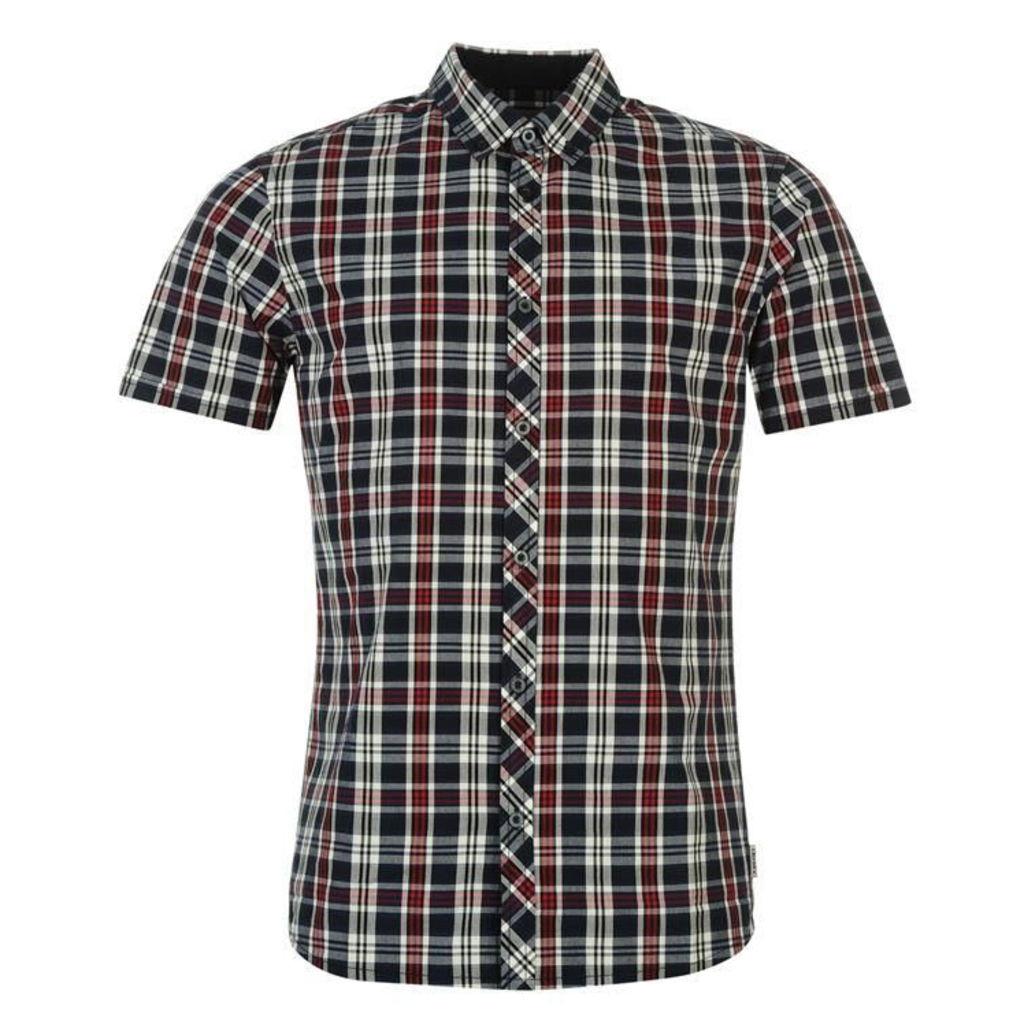 Soviet Checked Shirt Mens