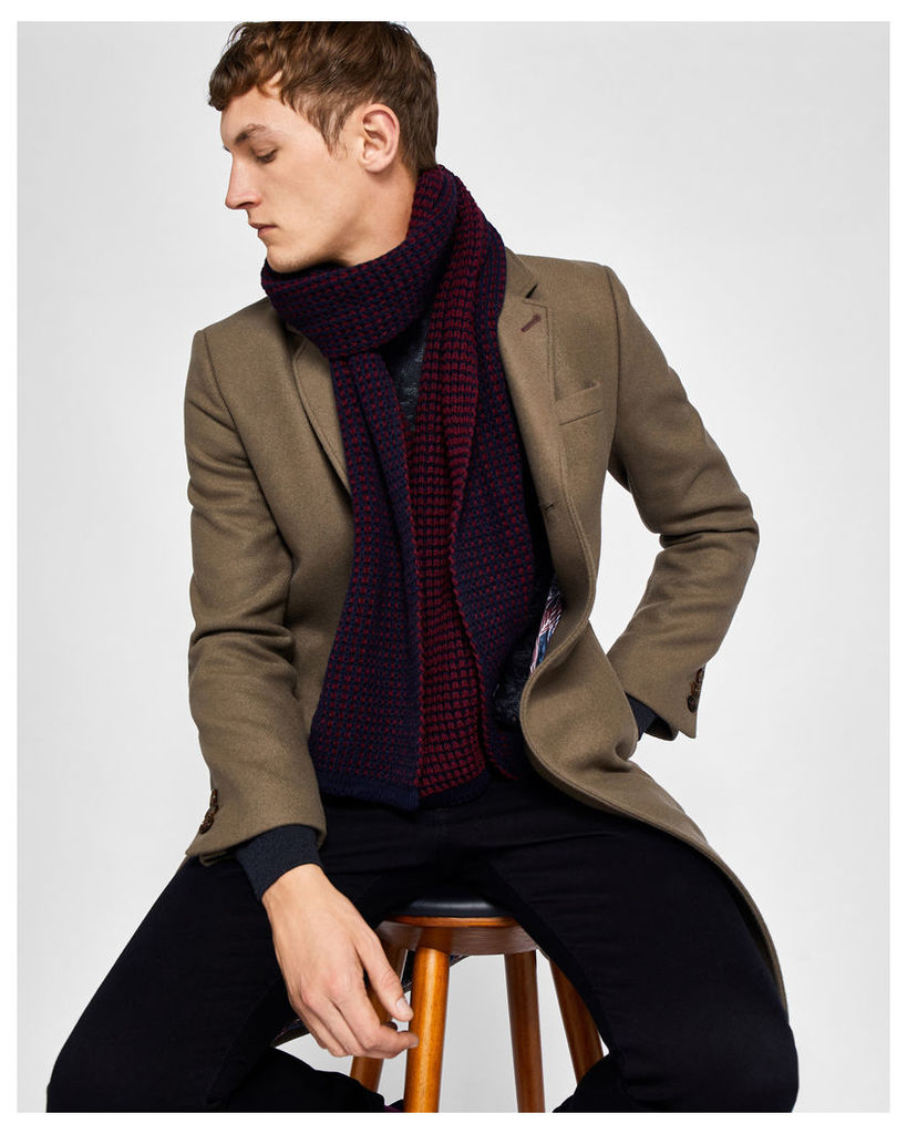 Ted Baker Wool-blend overcoat Taupe