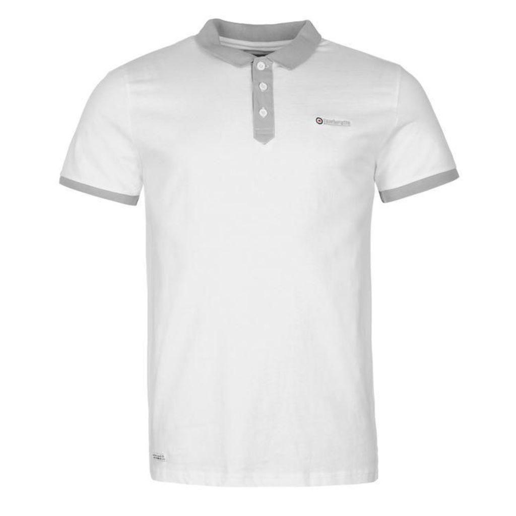 Lambretta Placket Polo Shirt Mens